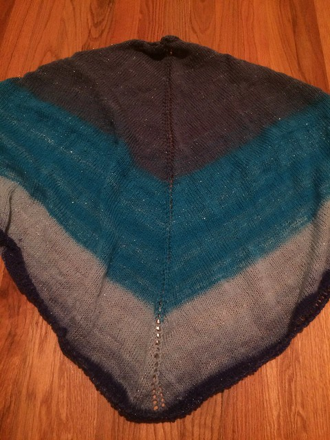 gradient shawl