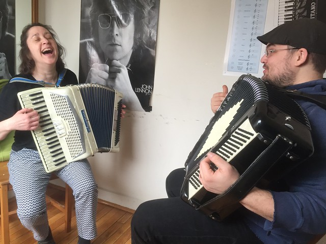 First Accordion Lesson