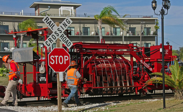R J Corman Installing Welded Rail (7 of 8)