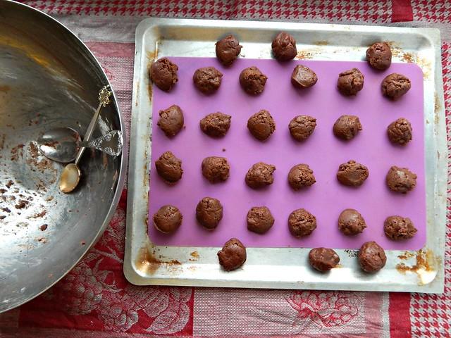 шоколадно-кофейное печенье из нутеллы | Хорошо.Громко.