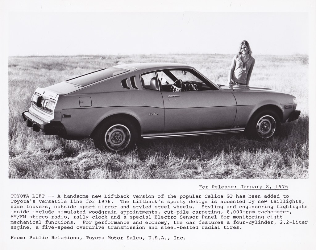 Celicacitys Most Interesting Flickr Photos Picssr 1973 Toyota Celica Gt Liftback Ra29 Press Photograph