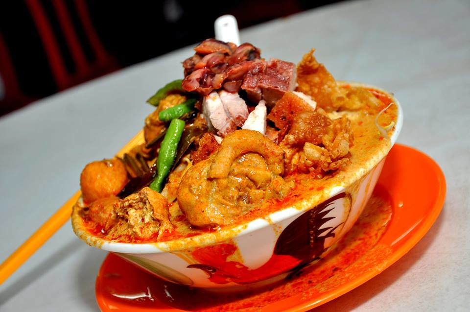 selayang big bowl curry noodle