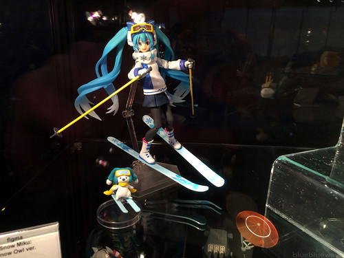 Figma Snow Miku owl version on display at the Good Smile Company booth at Made in Asia 8