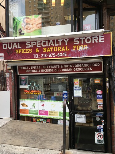 Dual Speciality Storeでスパイス探し