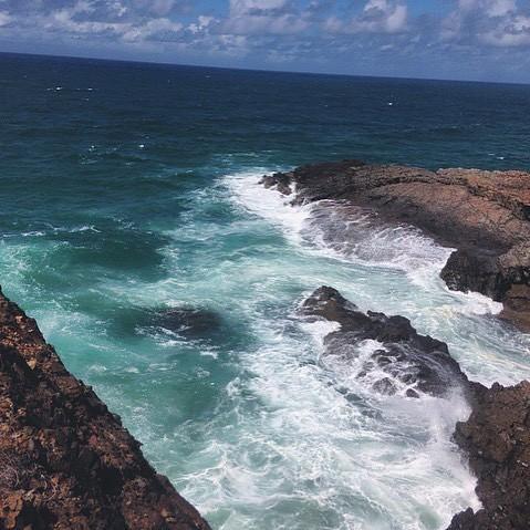 #beach #water #ocean #whitewash #photography #photographer #rocks #nature #adventure #venture #ventureoutdoors #visitqld #thisisqld #visitnoosa #freedom #travel #wander #wanderlust #wanderer #explore #travel #beachphotography #iphoneonly #followforfollow