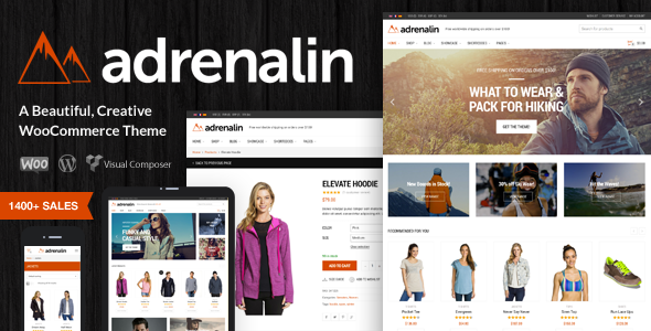 Adrenalin v1.9.13 – Multi-Purpose WooCommerce Theme