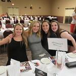 Shelby Kieper, Ebany Perris, Taylor Miller (WSOC Mar 24,2016)