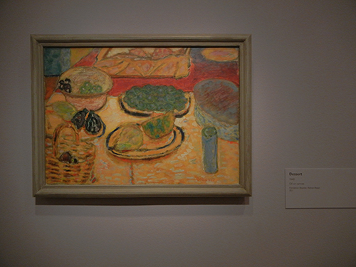 Pierre Bonnard, Legion of Honor, SF - Dessert _ 1858