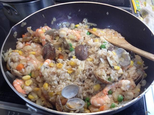 Paeria taste Fried rice
