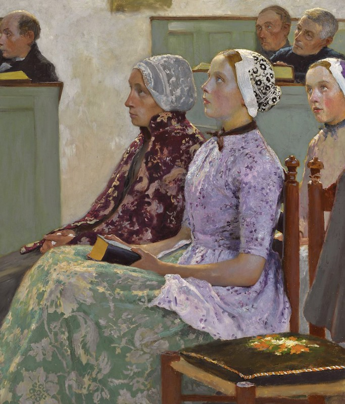 Gari Melchers - Sunday Mass