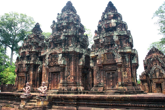 Bayon, Siem Reap, Cambodia, Canon EOS DIGITAL REBEL, Canon 18.0-55.0 mm