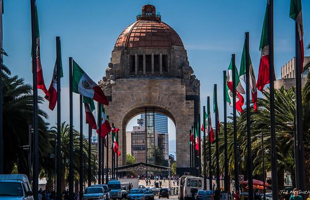 2016 - Mexico City - Monumento