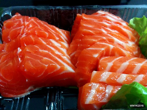 Salmon Sashimi from the Market