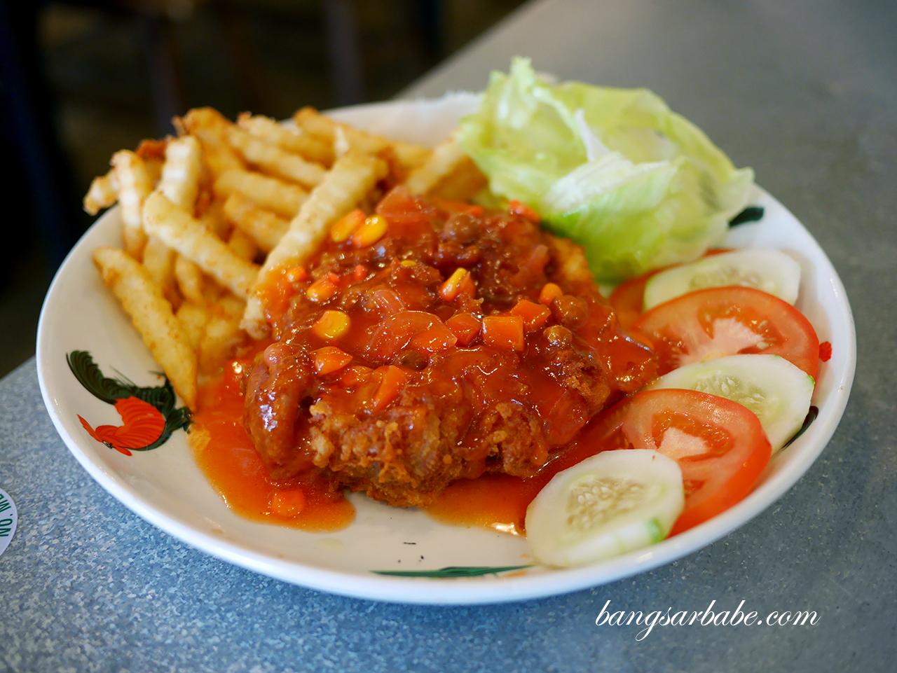 Hainanese Chicken Chop