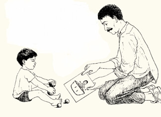 Dạy trẻ tự kỷ các hoạt động luân phiên (2)