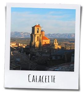 Calaceite ligt midden in een schitterend authentiek natuurlandschap dat uitnodigt om te wandelen en te fietsen