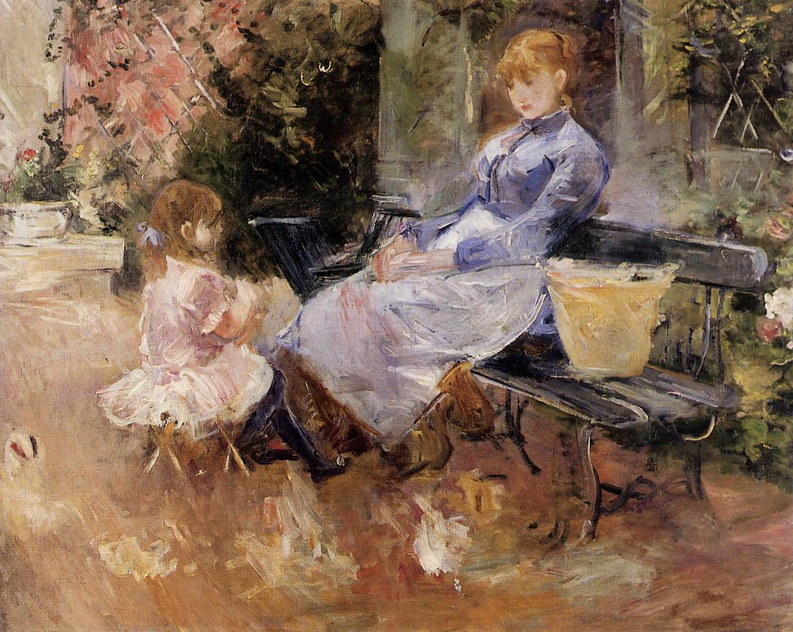 The Fable by Berthe Morisot, 1883