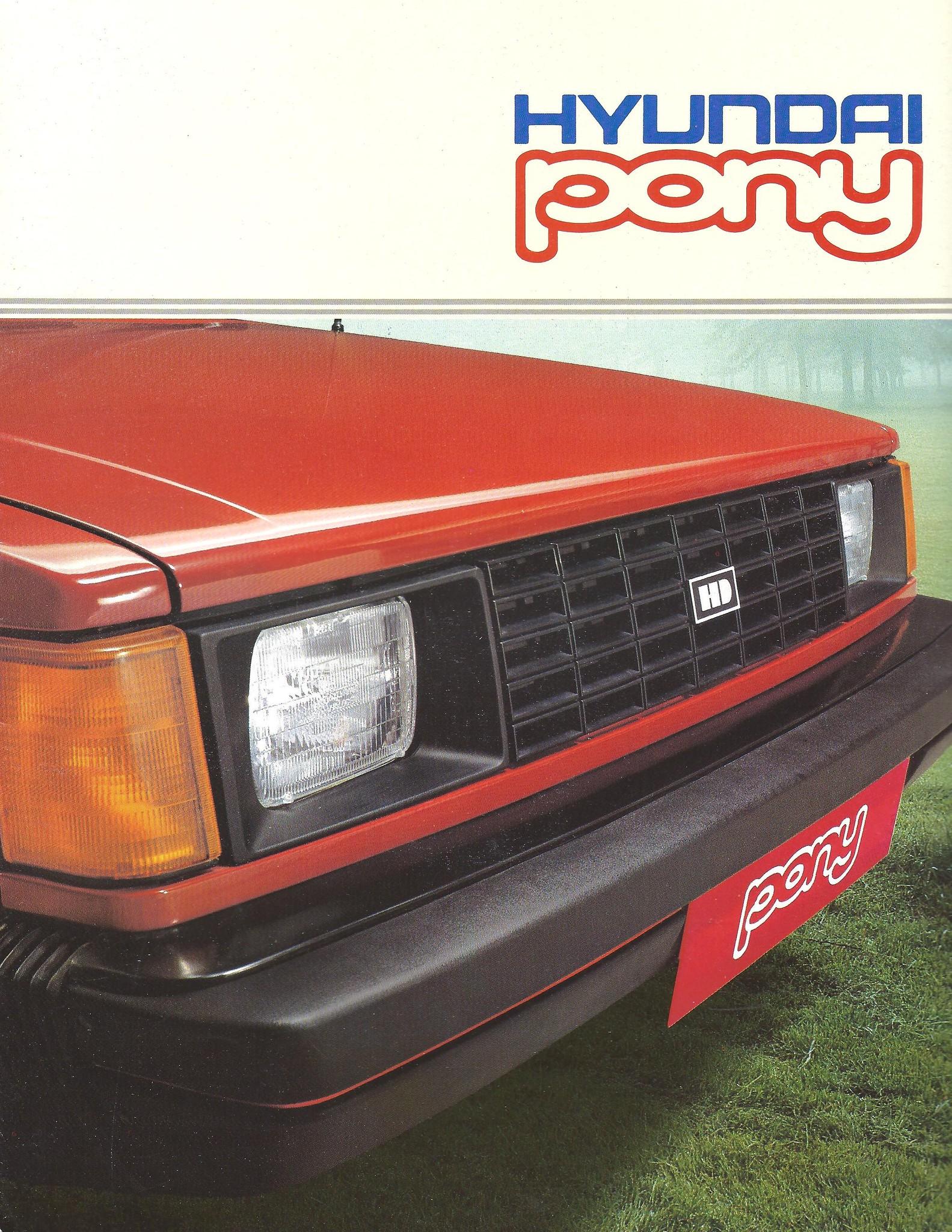 1985 Canadian Hyundai brochure