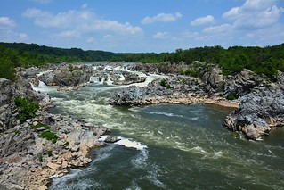 Great Falls - National Park - Potomac river