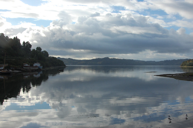 Morning Clouds in Castro, Chiloé, Chile