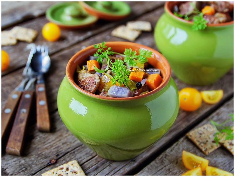 ...pork in the pot