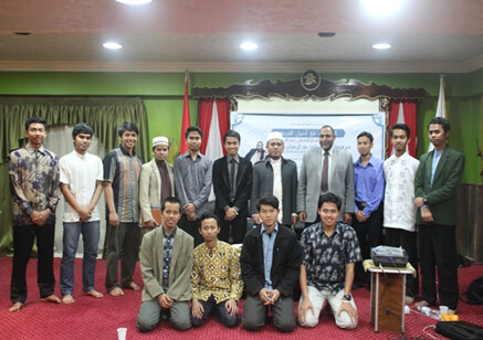 Indonesian students in Egypt- shatibi