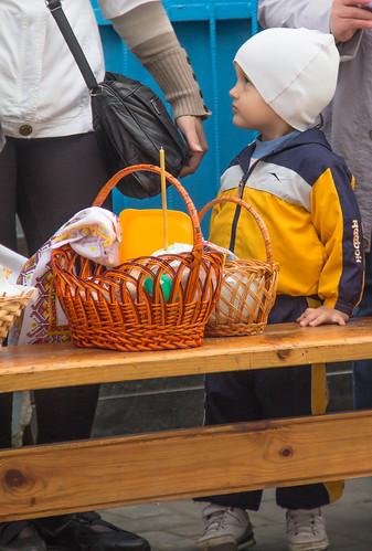 blue boy holiday yellow easter europe candle child basket ukraine holy orthodox orthodoxeaster zhytomir zhytomyr