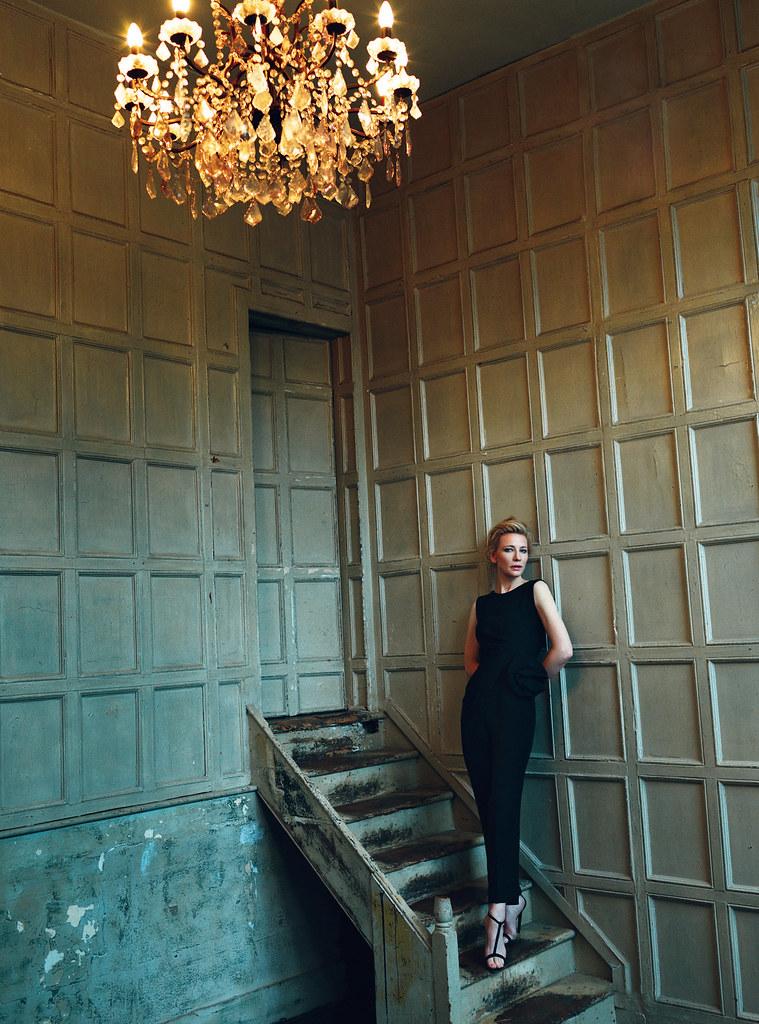Кейт Бланшетт — Фотосессия для «Harper's Bazaar» UK 2015 – 5