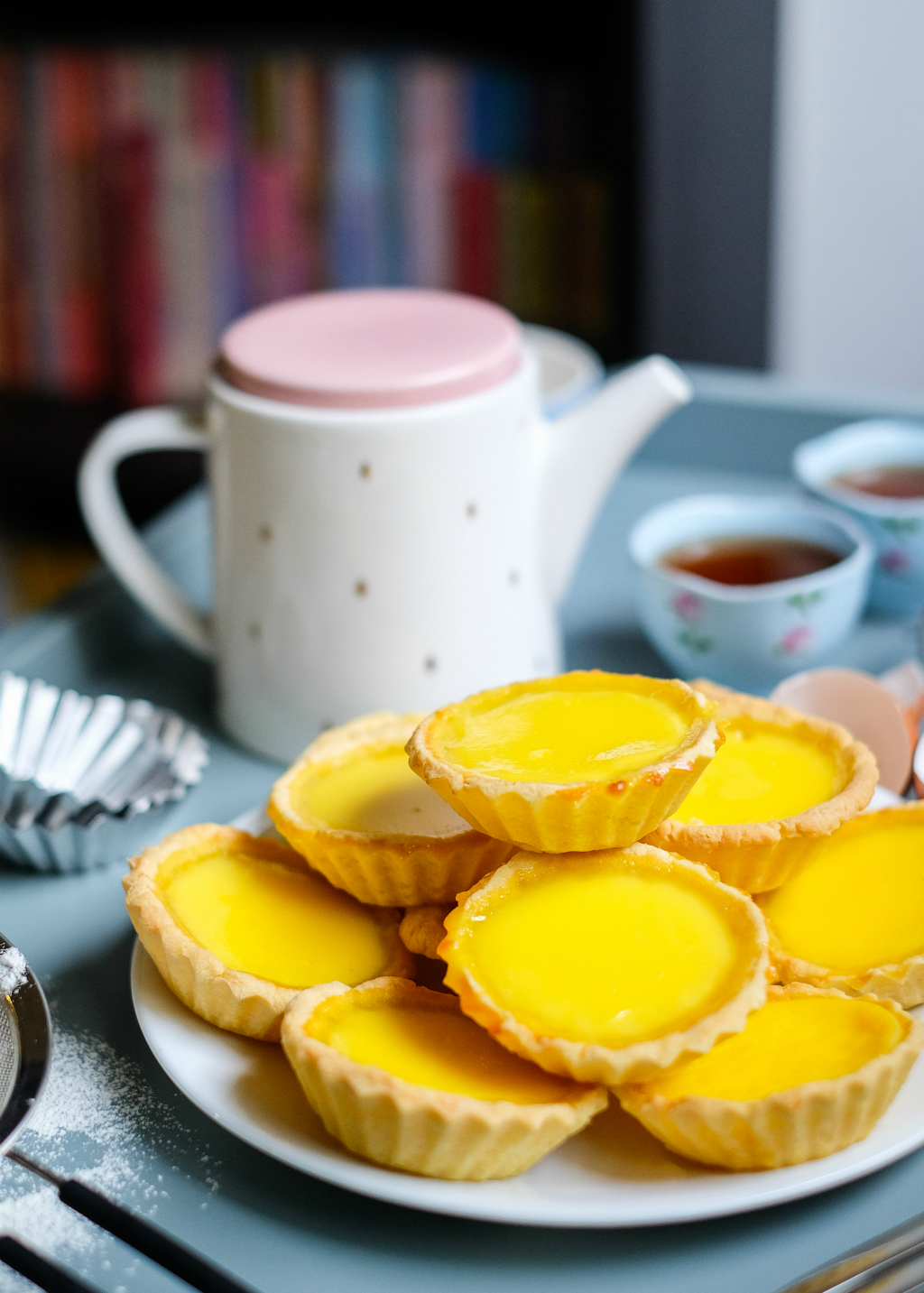 Egg Tarts Tea
