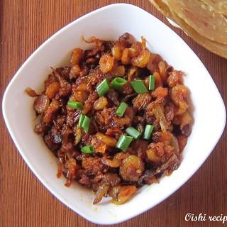 Shrimp roast Kerala style(Konchu/Chemeen Ullarthiyathu)