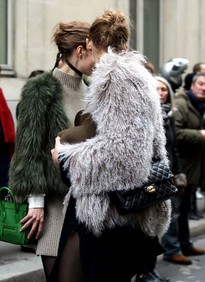 Faux Fur Coats Outfits style inspiration streetstyle5