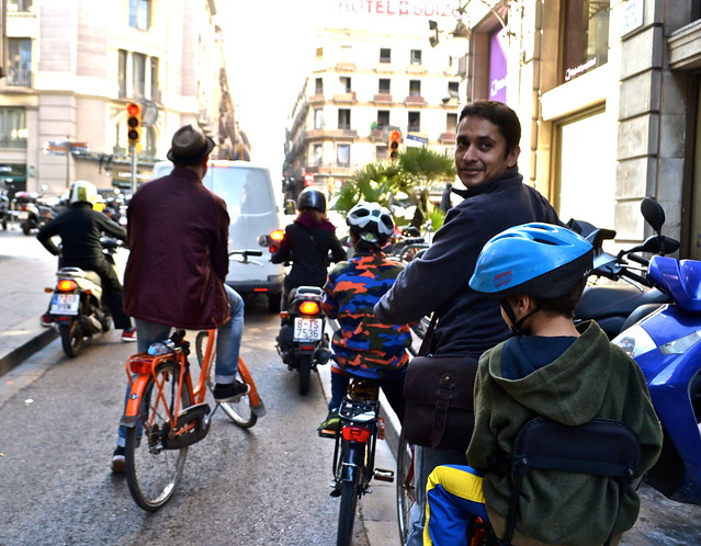 Barcelona City Tour on Bikes - The Best Way to See the City - baja bikes review