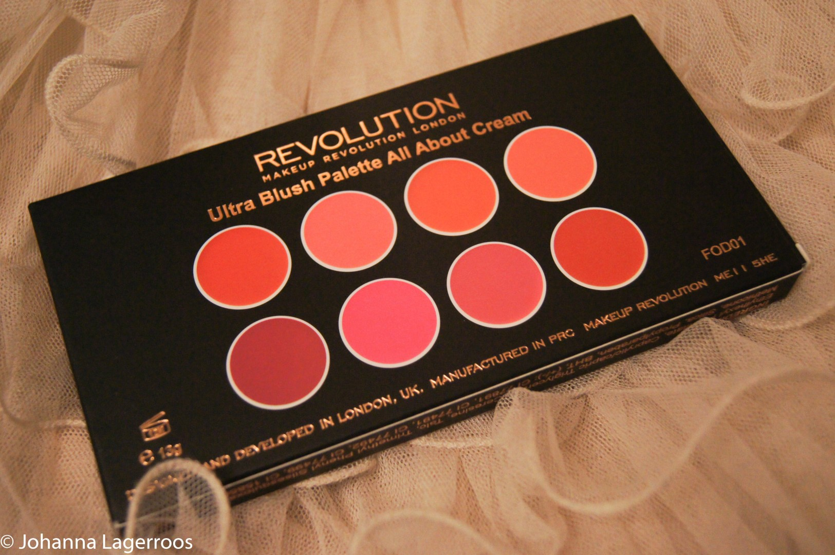 makeup revolution blush