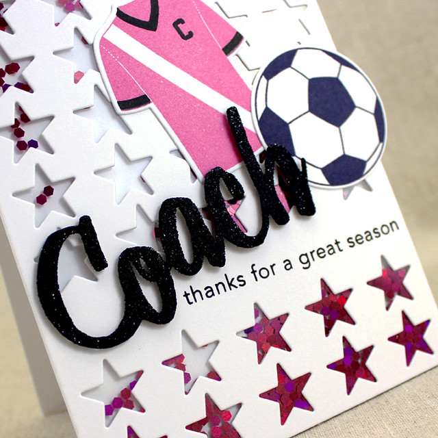 Coach Thank You Close Up