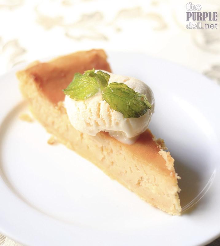 Potato Durian Pie ala Mode