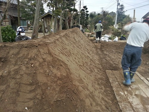 茨城県常総市でボランティア(鬼怒川豪雨水害 援人 0117便)