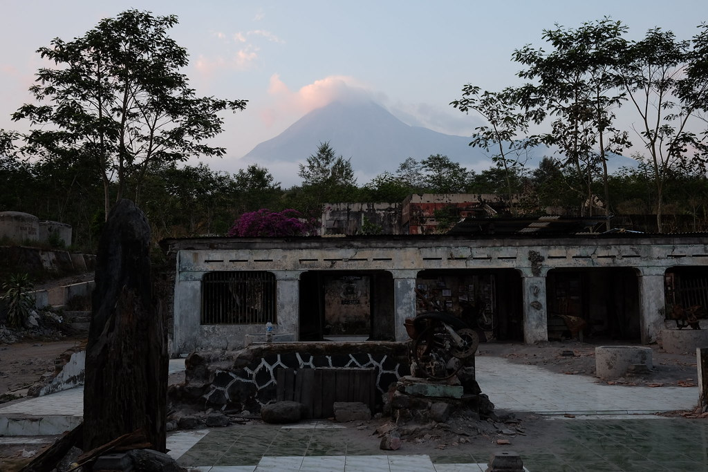 Scene of Merapi Volcanoes