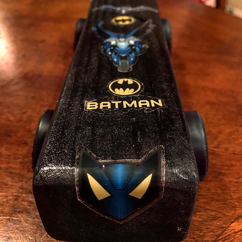 #batman pretend #derbycar for little dudes not in #scouts