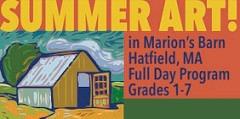 Summer Art in Marion's Barn