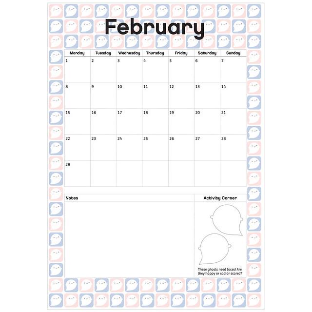 February Printable Planner