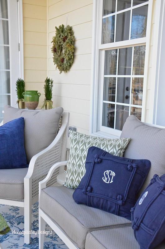 Upper Porch/Winter - Housepitality Designs