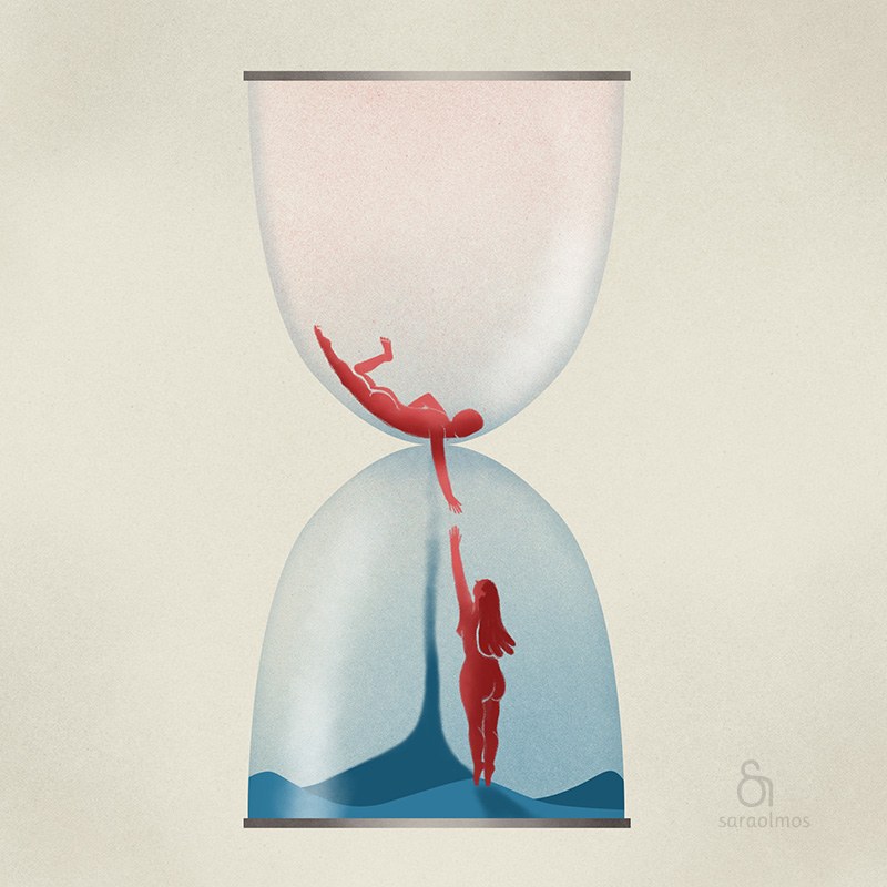 Hourglass... our glass