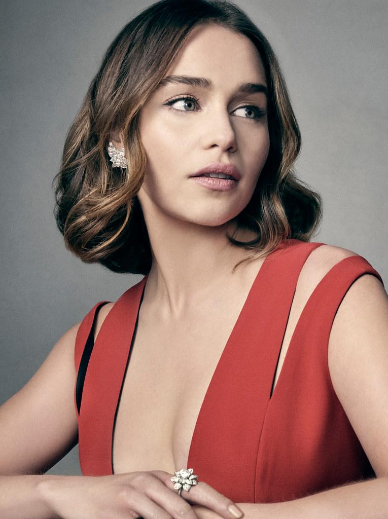 Эмилия Кларк — Фотосессия на «BAFTA» 2016 – 1