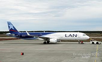 LAN A321 CC-BED en PUQ (RD)