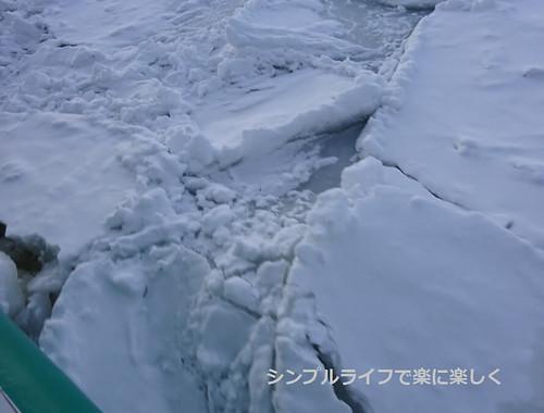流氷、おーろら号流氷アップ
