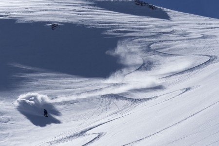 Tragická tyrolská lavina: pohled zespodu…