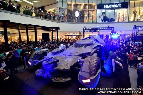 Batman v Superman in SM North EDSA
