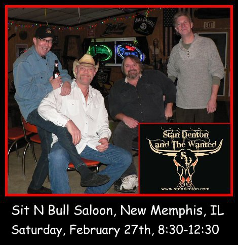 Stan Denton & The Wanted 2-27-16