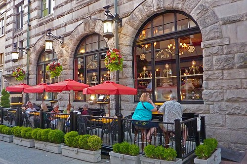The Irish Times Pub, Downtown Victoria, British Columbia, Canada