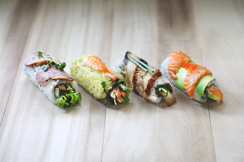 Healthy Food in Singapore: Roll Out Sushi Bar
